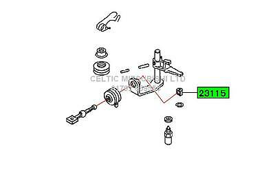 Genuine Mitsubishi Spacestar Manual Gear Box Linkage Bush