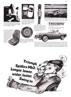 1966 Triumph Spitfire Mk2 Matching Numbers & beautifully