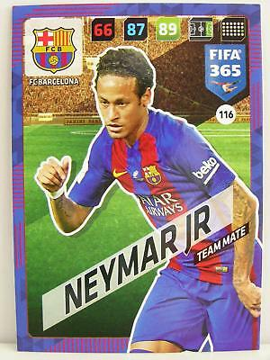 Panini Adrenalyn XL FIFA 365 2018 - # 116 Neymar Jr - FC Barcelona