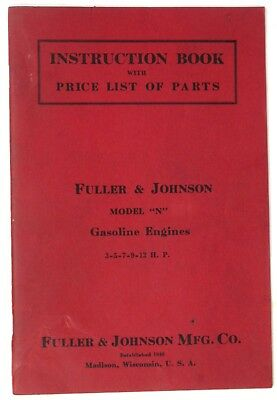 Fuller Johnson Engine Parts