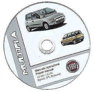 FIAT MULTIPLA (1998 / 2010) Manuale Officina ITALIANO SU