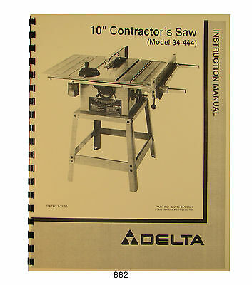 Jet Table Saw Jwts 10 Manual