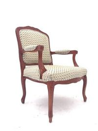 VICTORIAN STYLE French Louis Parlour Armchair Rustic ...