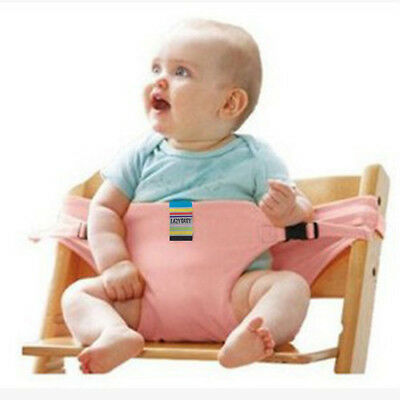 portable high chair booster wheelchair stairs safety seat strap harness belt for baby