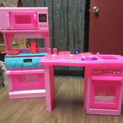 Barbie Kitchen Playset 22 Inch Sink Vintage And Accessories Oven Stove Dishwasher