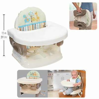 portable baby high chair hook on round cushions for outdoor chairs table infant travel seat feeding booster toddlers traveling space saver