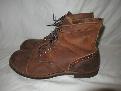 red wing heritage iron