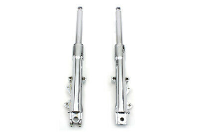 V-TWIN 41MM CHROME Dual Disk Front End Leg Fork Slider