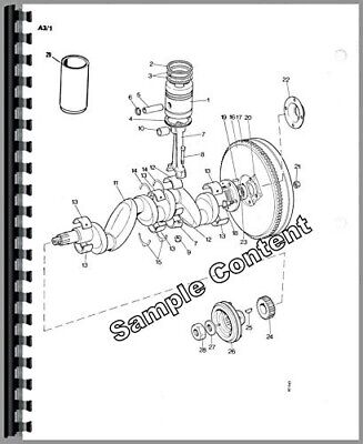JOHN DEERE NO. 2 Bale Ejector Parts Catalog Book Manual