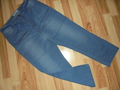 7/8 jeans by ARIZONA * size 44 * blue * straight * 78% cotton / 21% polyester / 1% elastane * NEW!