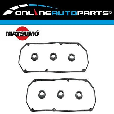 ROCKER Cover Gasket Set suits Toyota LANDCRUISER 2H 6 cy