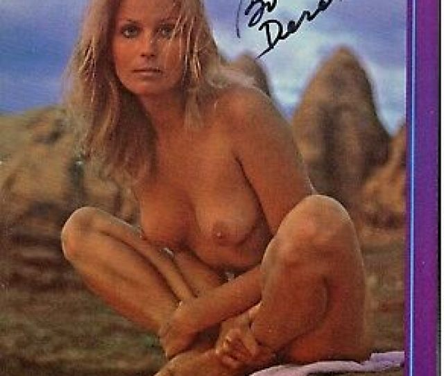Bo Derek Nude  Autograph Hand Signed Playboy Magazine Picture