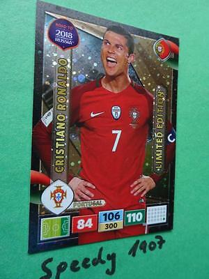 Panini Road To RUSSIA 2018 Fifa World Cup Limited Edition Ronaldo Adrenalyn