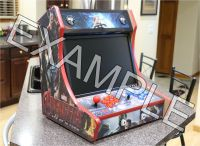 """BARTOP ARCADE CABINET - 3/4"""" MDF - Do it Yourself Kit -T ..."""