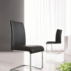 Chrome Dining Chairs Uk White Outdoor Chair Australia Modern Designer Leather Room