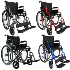 X3 Wheelchair Chair Covers Design Foxhunter Self Propelled Folding Lightweight Transit