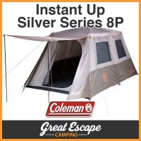 COLEMAN Instant Up 8 Person Tent FULL FLY 8P NEW MODEL ...