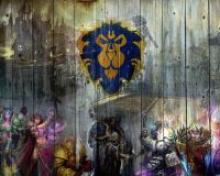 WORLD of Warcraft WOW Alliance Wall Poster Print Art ...