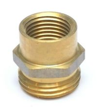 """1/2& FEMALE NPT to 3/4"""" Male GHT Garden Hose Thread to ..."""