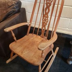 Rocking Chairs For Nursery Under 100 Chiavari Sale Miami Vintage Chair Possibly Ercol Seat