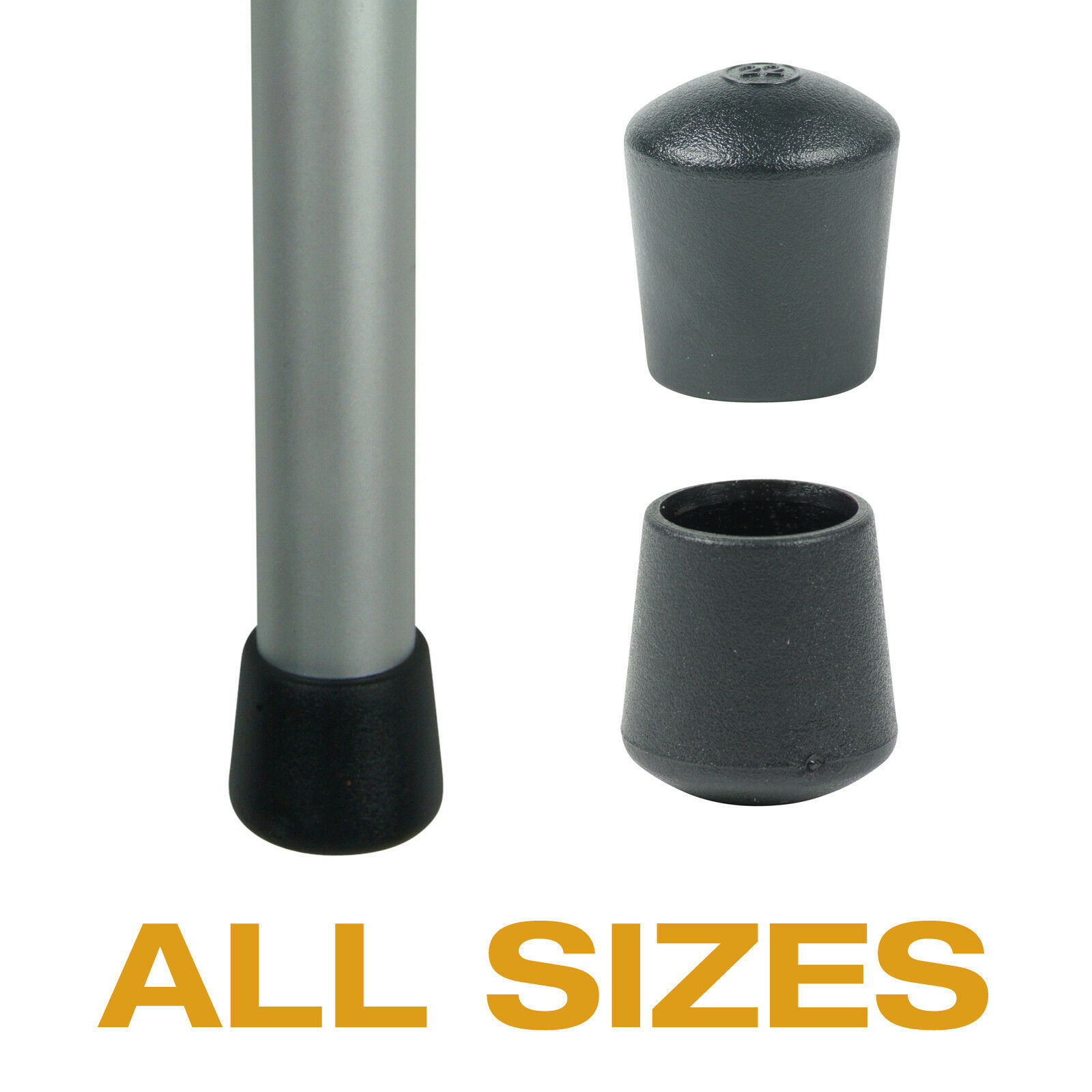 chair stoppers plastic folding covers bed bath and beyond flexible black ferrules for tables legs