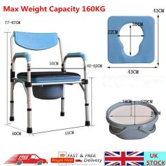 United Chair Medical Stool Wisconsin Union Chairs Folding Commode Portable Toilet Seat
