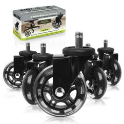 Office Chair Rollerblade Wheels Rental Brooklyn Slipstick Cb690 3 And Set Of