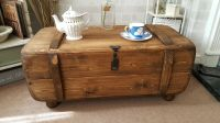 INDUSTRIAL VINTAGE ARMY Rustic Trunk Chest Coffee Table ...