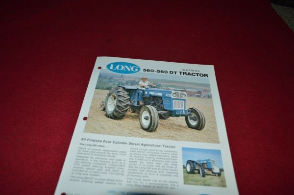 Long 560 Tractor - Year of Clean Water
