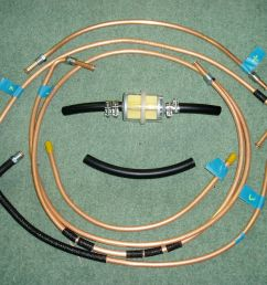 fuel line set for ww2 willys mb jeep ford gpw 1941 45 1 of 2only 2 available  [ 1600 x 1200 Pixel ]