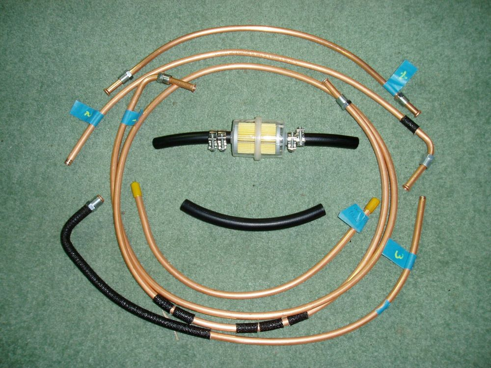 medium resolution of fuel line set for ww2 willys mb jeep ford gpw 1941 45 1 of 2only 2 available