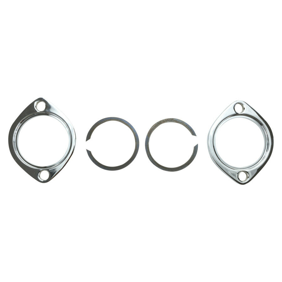 EXHAUST PORT CLAMPS & Retainers (fits 1986-Later Sportster
