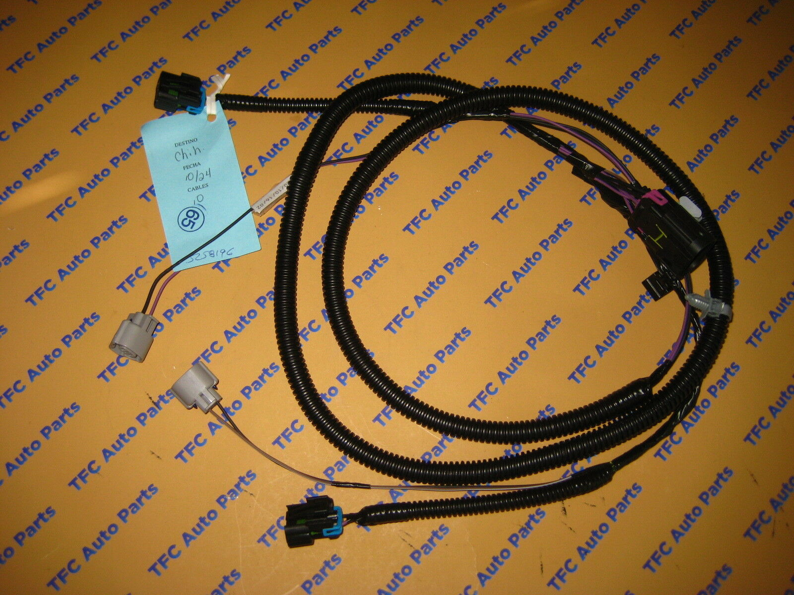 hight resolution of chevy camaro fog light wiring harness kit oem new genuine gm 2010 2005 chevy truck brake light switch harness gm fog light wiring harness