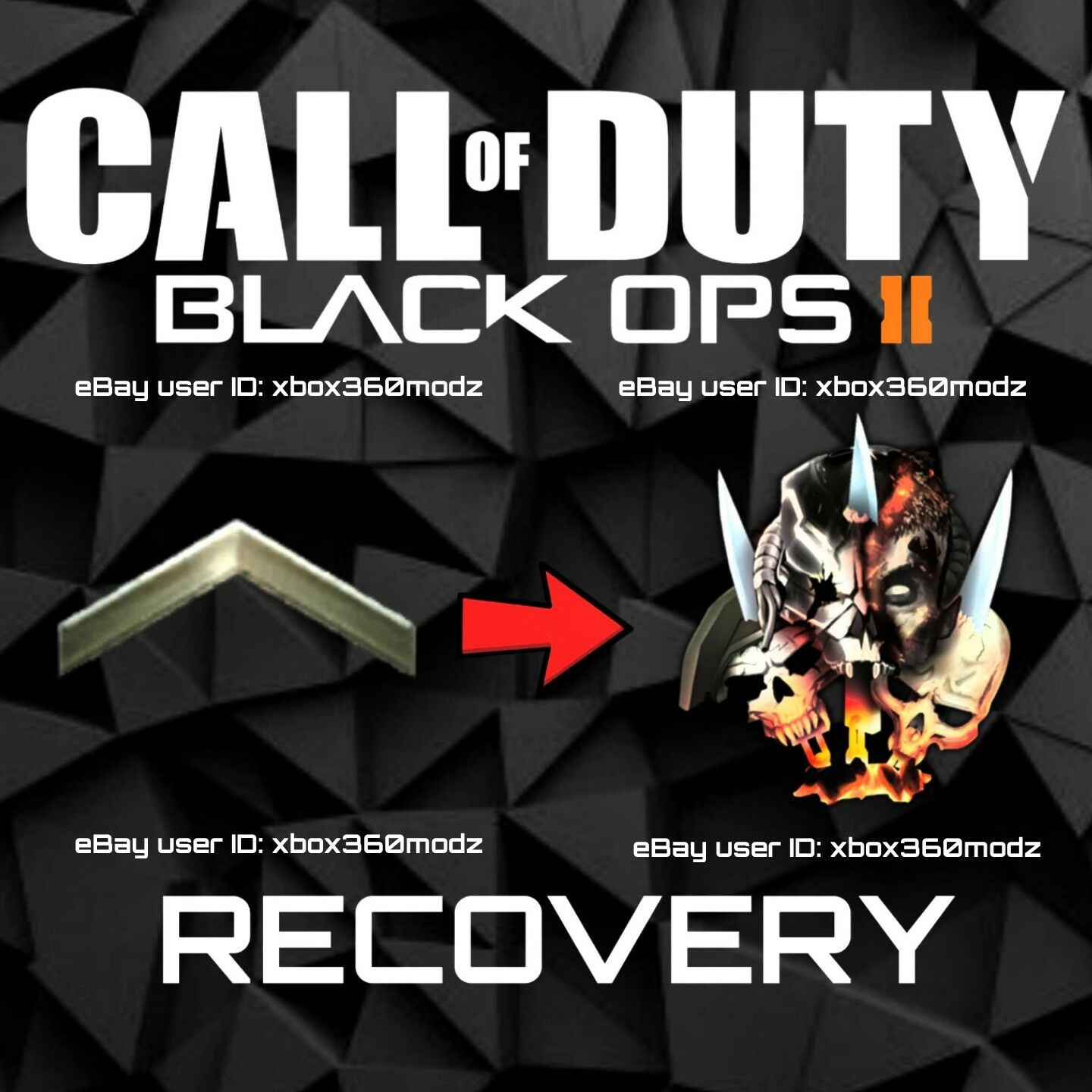 CALL OF DUTY Black Ops 2 Recovery Mod Prestige Master