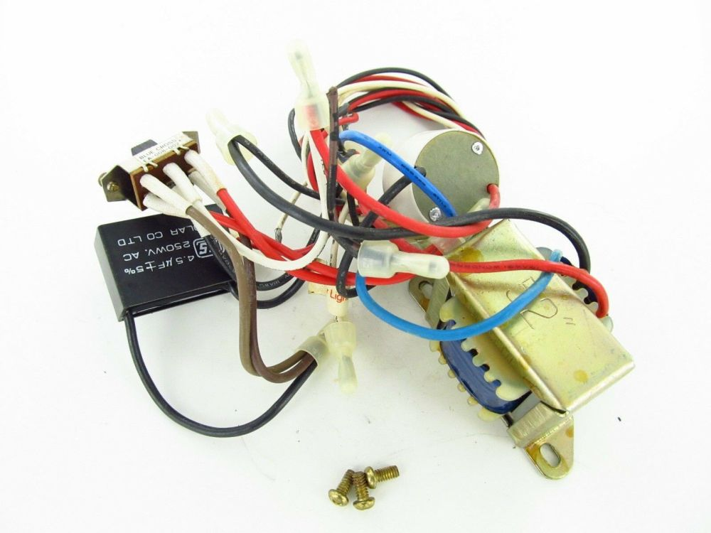 medium resolution of  5 used nutone ceiling fan wiring harness with switchs capacitor parts 1