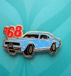 68 1968 camaro rs coupe hat pin lapel pin tie tac hatpin gift boxed 1 of 2free shipping  [ 1293 x 1019 Pixel ]