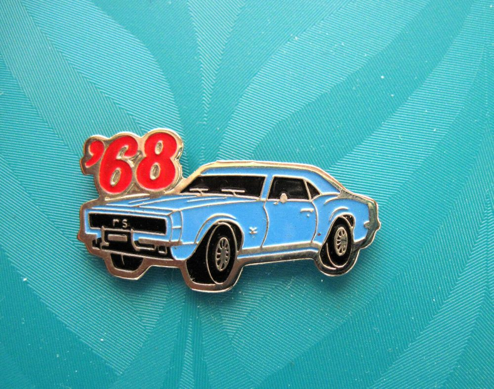 medium resolution of 68 1968 camaro rs coupe hat pin lapel pin tie tac hatpin gift boxed 1 of 2free shipping