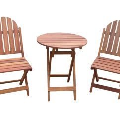 Foldable Table And Chairs Garden Computer Chair Good For Back New Oak Timber Outdoor Sets