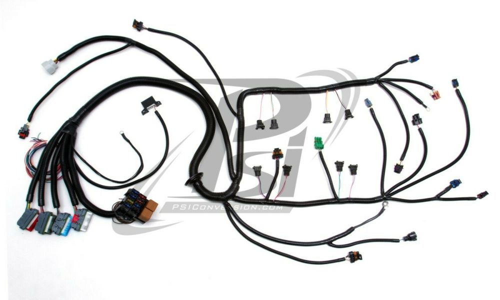 medium resolution of 1994 1997 lt1 psi standalone wiring harness w 4l60e