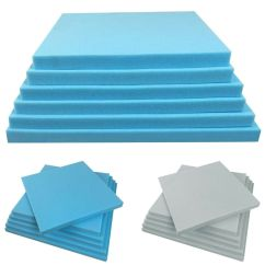 Foam Cushion Inserts For Chairs Portable Shower Chair Upholstery Cushions Seat Pads Depth Replacement