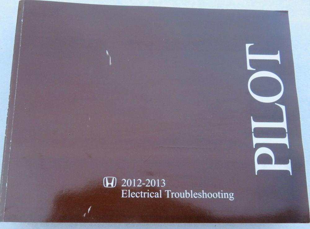 medium resolution of 2012 2013 honda pilot factory service manual electrical wiring diagram etm book 1 of 3only