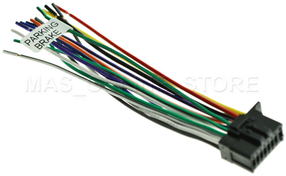 medium resolution of 16pin wire harness for pioneer avh 280bt avh280bt pay today ships wire connector types 1