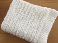 KNITTING PATTERN- Dainty Hearts Baby Blanket - 3.99 ...