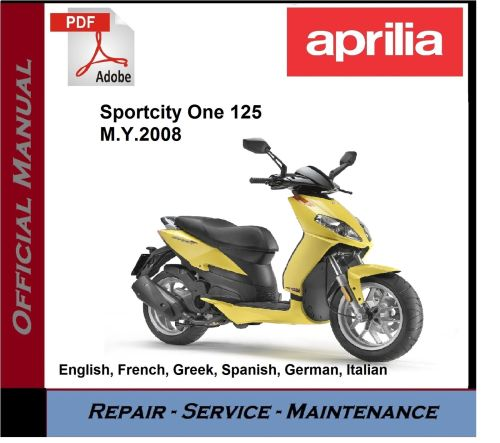 small resolution of aprilia sportcity one 125 2008 onwards workshop service repair manual 1 of 1free shipping