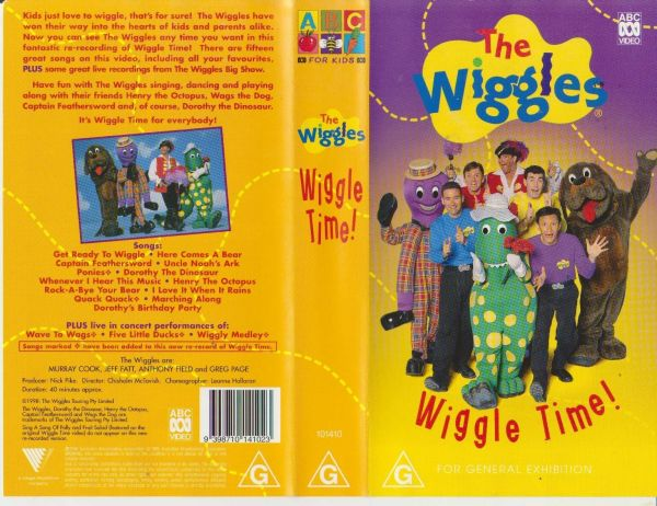 The Wiggles Clock Vhs - Year of Clean Water
