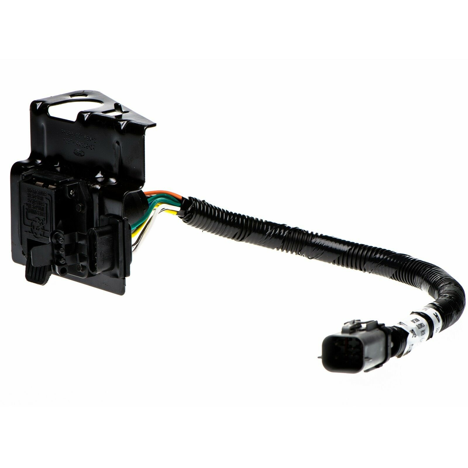 hight resolution of oem new 4 7 pin trailer tow wire harness 02 04 ford f250 f350