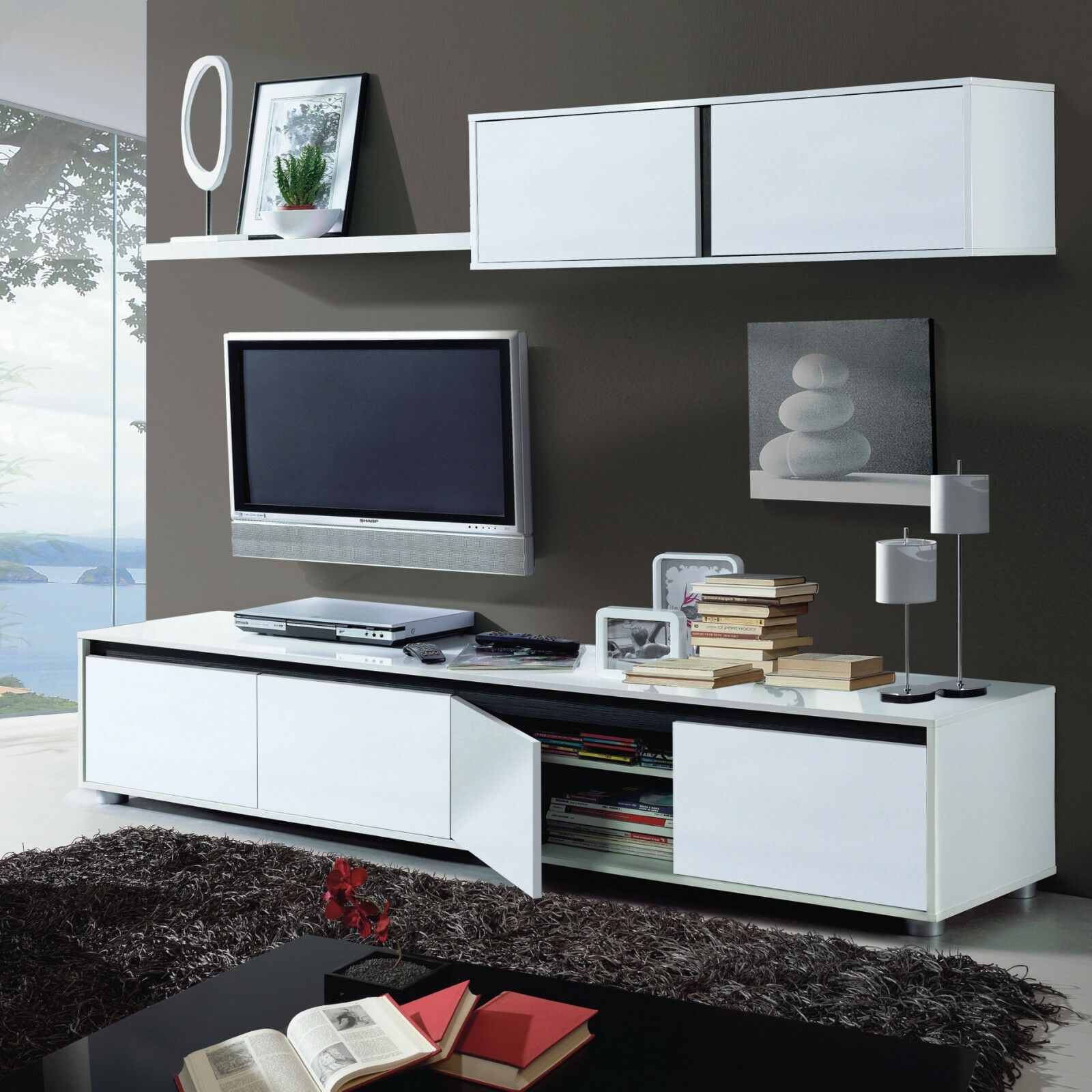 Amalia TV Unit Living Room Furniture Set Modular Media