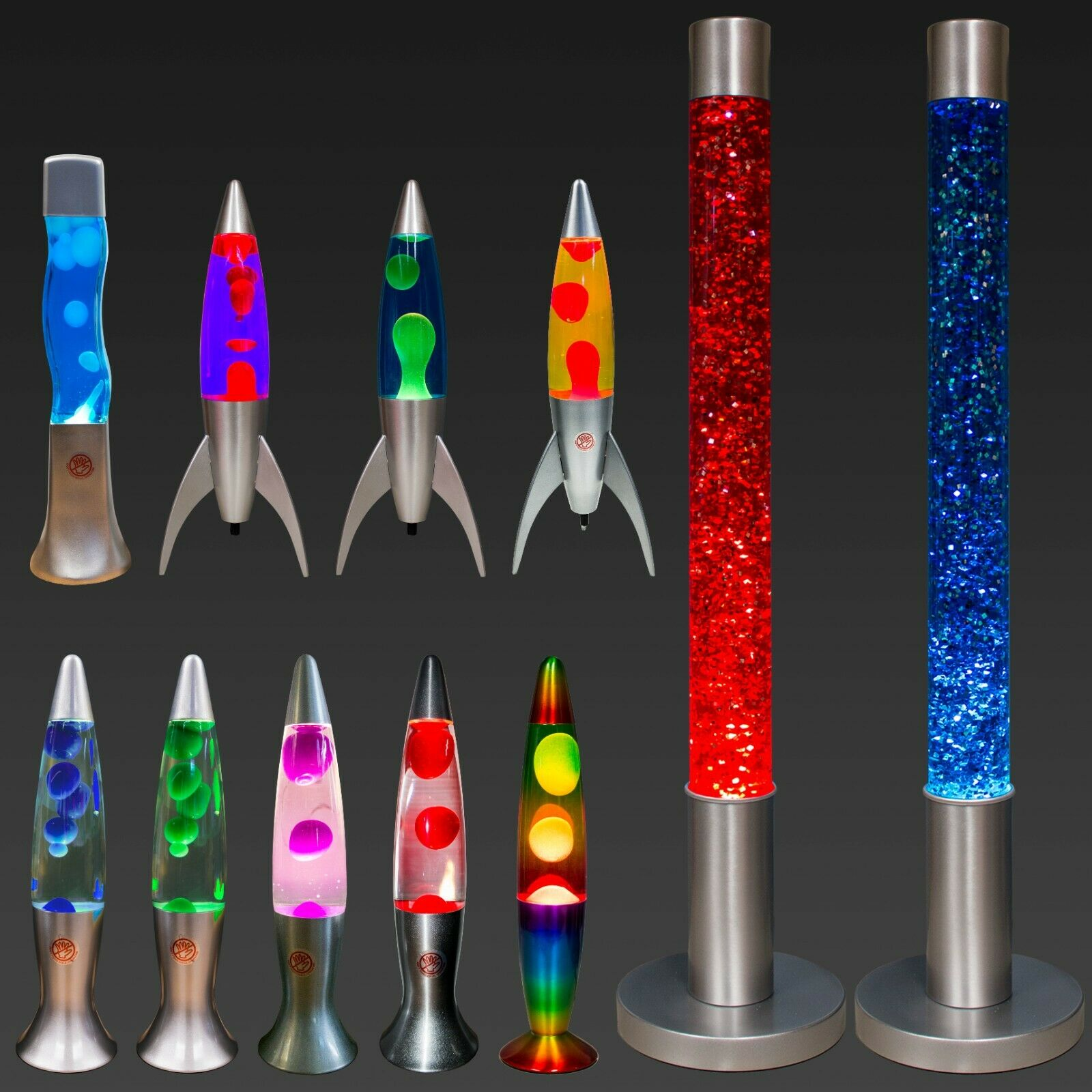 Lava Lamp Bedroom Home Liquid Soothing Relaxing Motion Wax