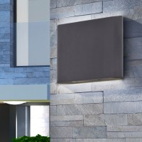 OUTSIDE PATIO LIGHT LED Modern Wall Lamp Lights Driveway ...