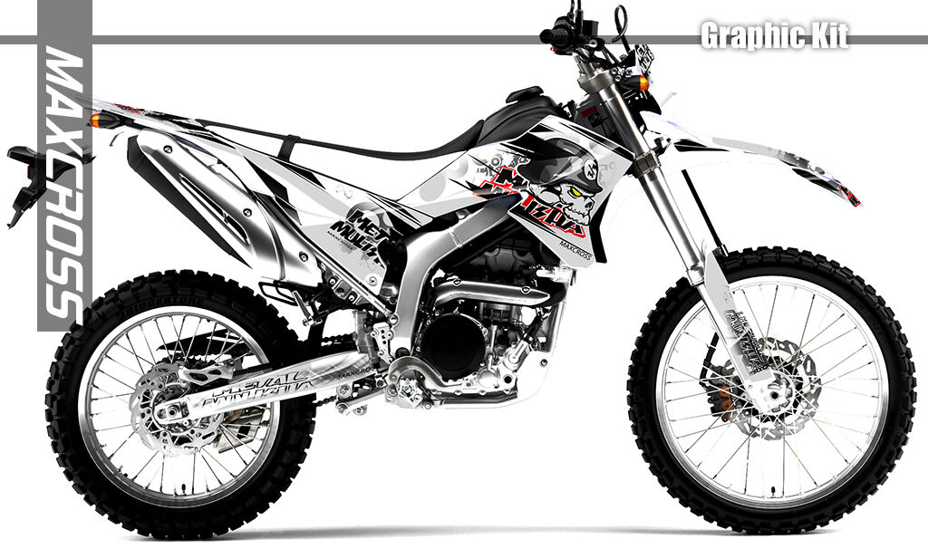 YAMAHA WR250R WR250X All Years Maxcross Graphics Kit